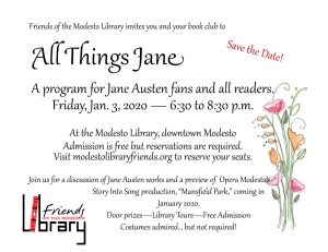 All Things Jane flyer